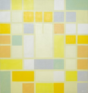 Våren  akryll 135 x 127 cm 2010