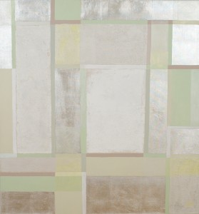 Vinter  slagmetal akryl 135 x 127 cm 200